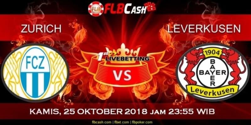 Prediksi Bola Akurat Zurichvs Leverkusen 25 Oktober 2018