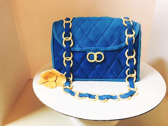 Handbag Cake by Klaudya's Cakes