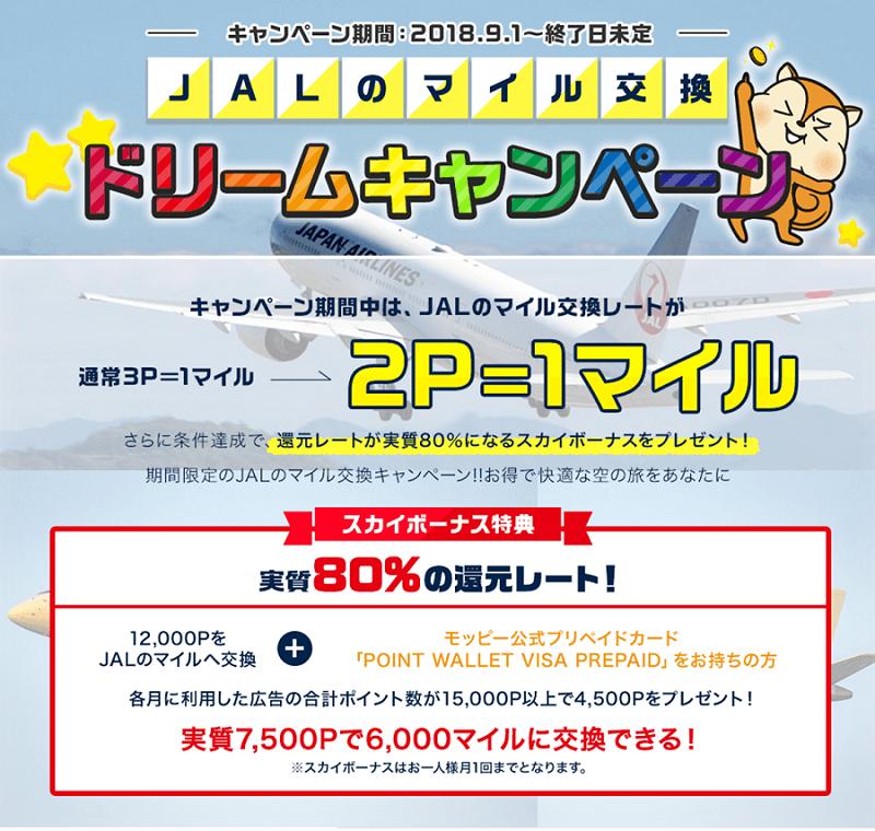 JALドリームキャンペーン