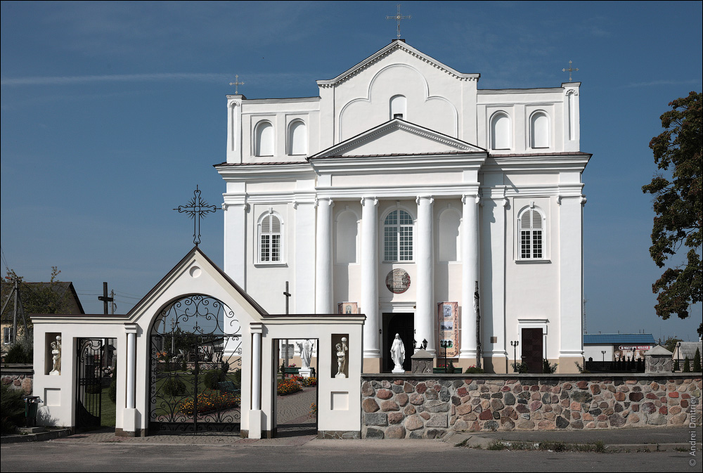 Островец, Беларусь, Костел св. Козьмы и Демьяна