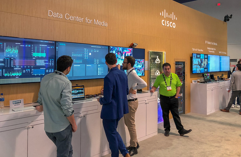 Cisco NAB 2018 Boothdg