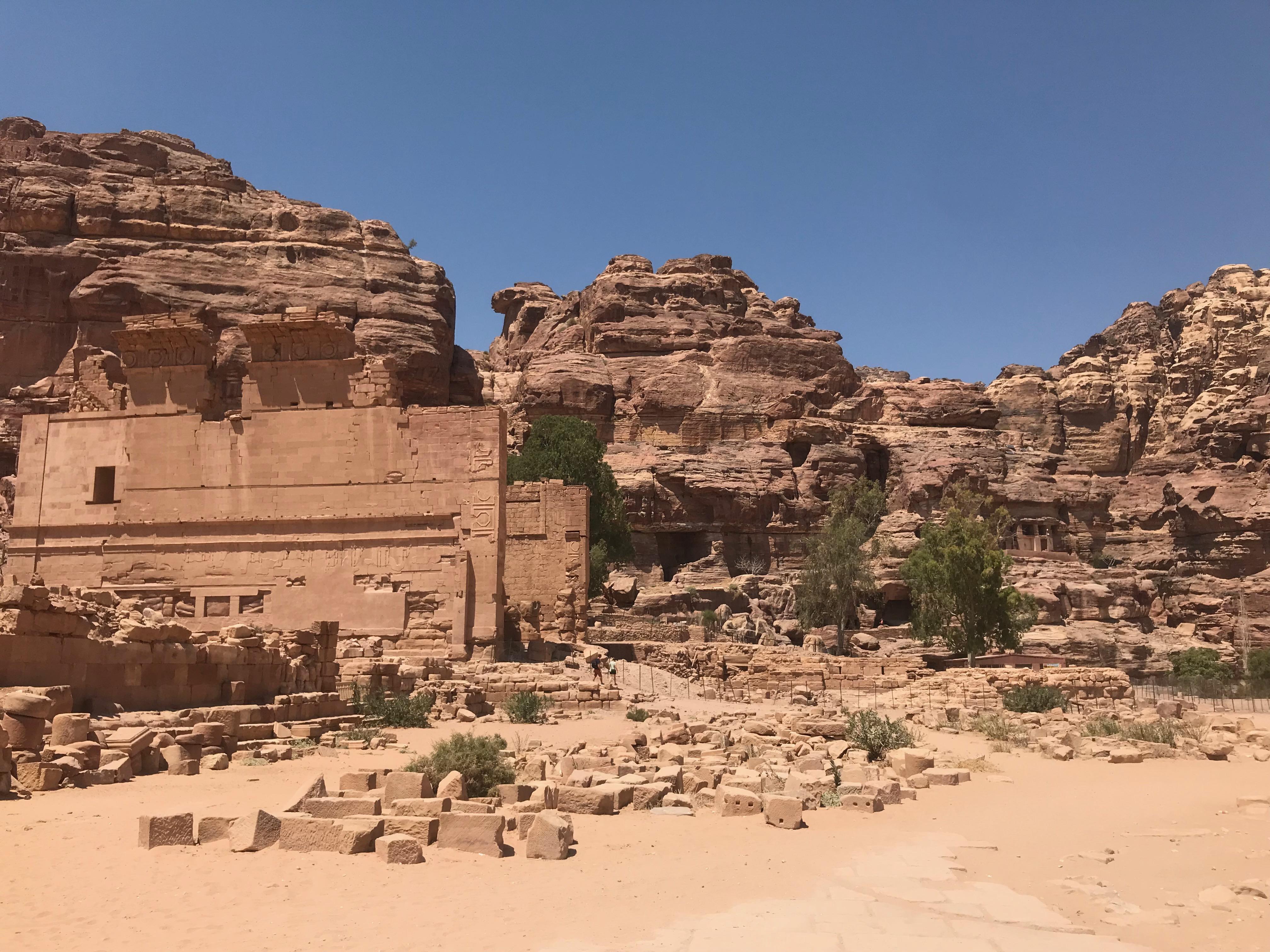 Petra - temple