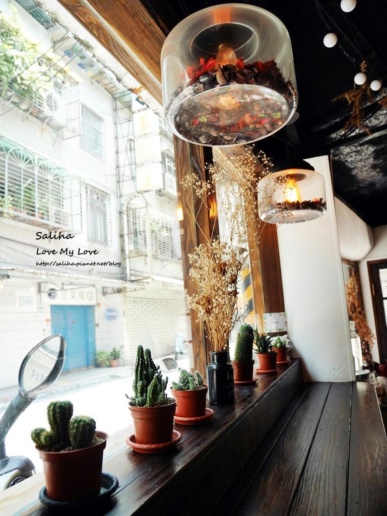 新店小碧潭站食尚玩家推薦乾燥花文青餐廳咖啡在家吃飯 (10)