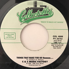 C & C MUSIC FACTORY:THINGS THAT MAKE YOU GO HMMMM....(LABEL SIDE-A)