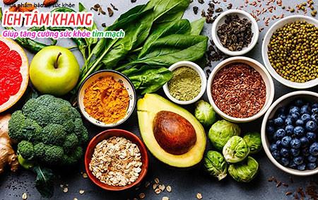 Những thực phẩm làm giảm viêm tốt cho người bệnh mạch vành