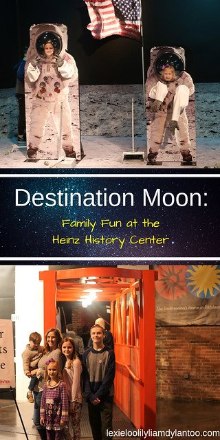 Destination Moon: The Apollo 11 Mission at the Heinz History Center + GIVEAWAY! #Pittsburgh #DestinationMoon #HeinzHistoryCenter {sponsored}
