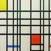 Composition with yellow, blue and red | Piet Mondriaan