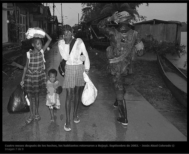 Fotografía para ilustrar las palabras del conflicto