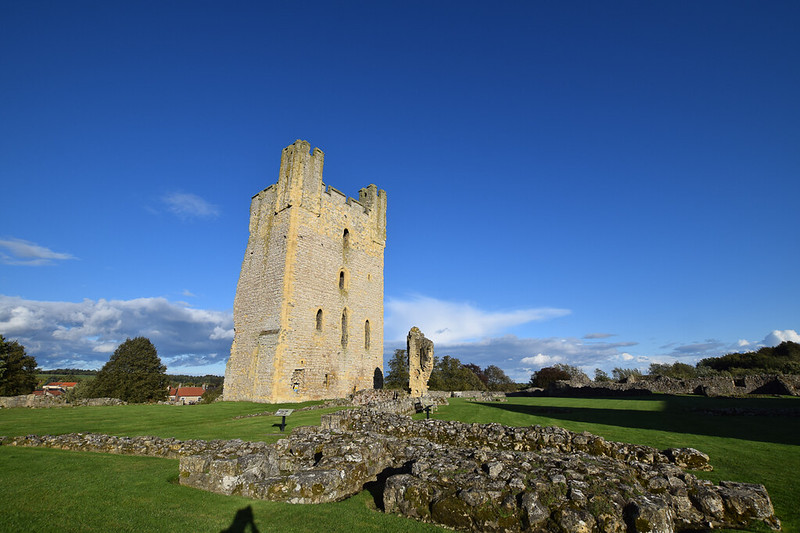Helmsley Castle - Day trips from York