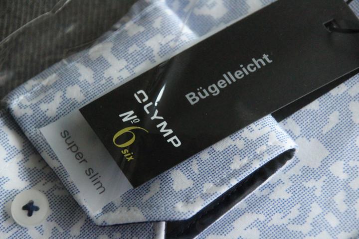 Verpakking Super Slim Fit overhemd van Olymp