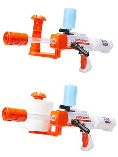 千萬不要把廁所的最後一筒衛生紙拿來玩啊XD~Jakks Pacific【廁所紙玩具槍】Toilet Paper Blaster Skid Shot