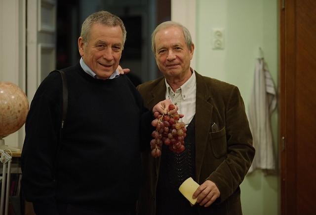 Alexander Kudinov and Arthur Chernin, SAI MSU