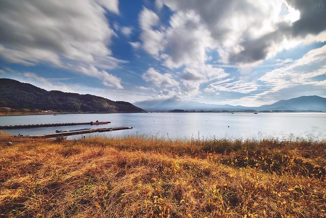 河口湖, Nikon D800E, AF-S Zoom-Nikkor 14-24mm f/2.8G ED