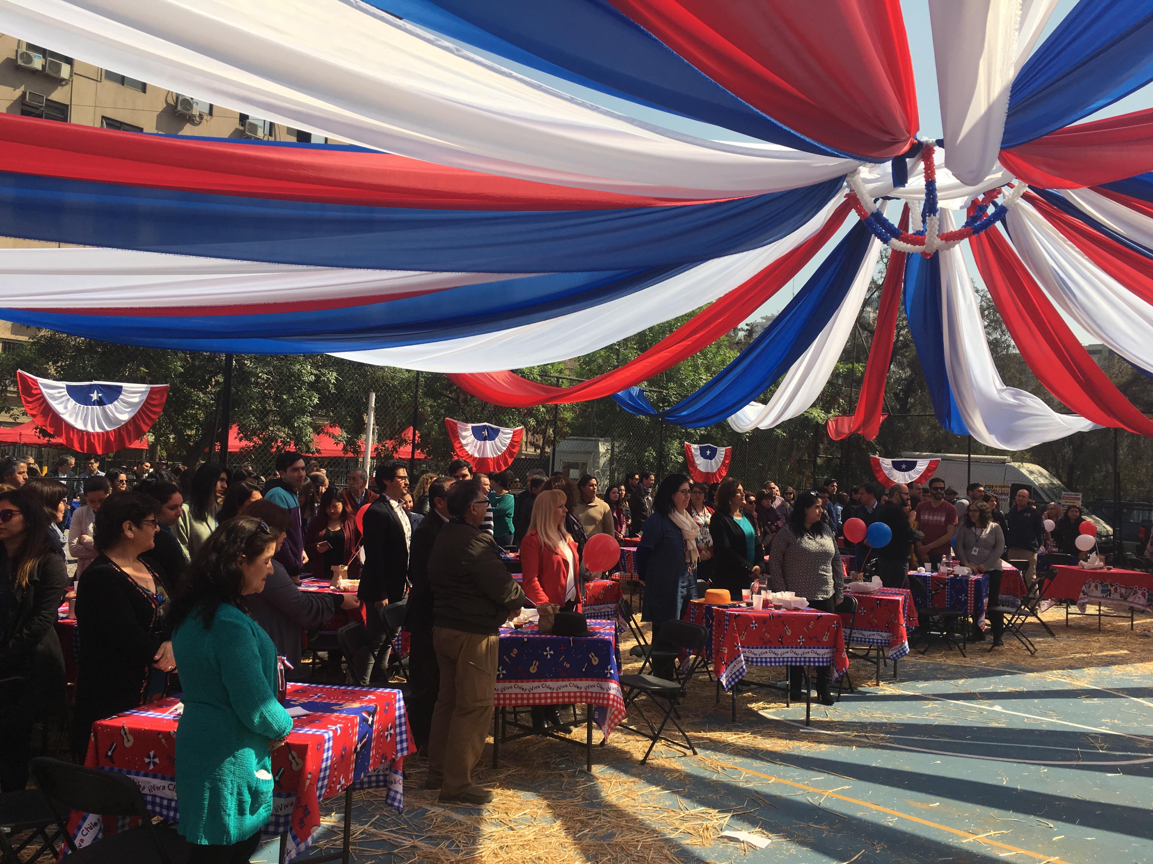 Celebración Fiestas Patrias en el INE – 14 Sept. 2018