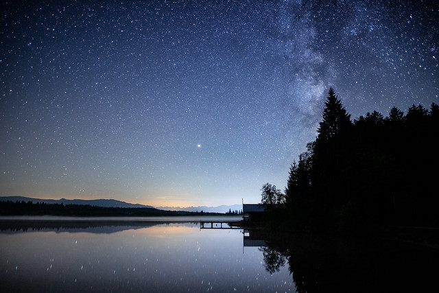 end of summer-end of milky ways....