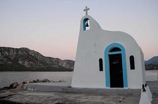 Ahgios Nikolaos (St. Nicholas) at Lake Vouliagmenis - Loutraki