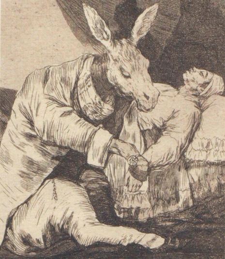 Goya De qué mal morirá