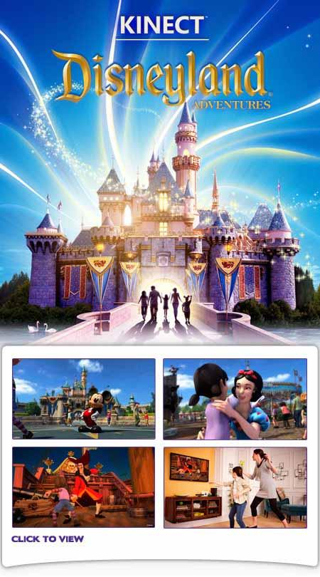 Kinect Disneyland Adventures Xbox 360 Kinect Spiel Guter Zustand Ebay