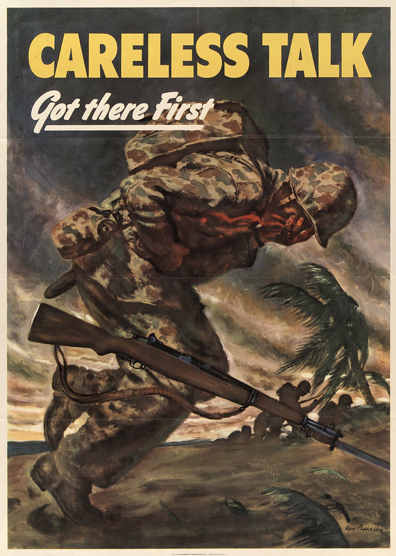 Careless talk - got there first (1944) - Ray Prohaska (1901-1981)