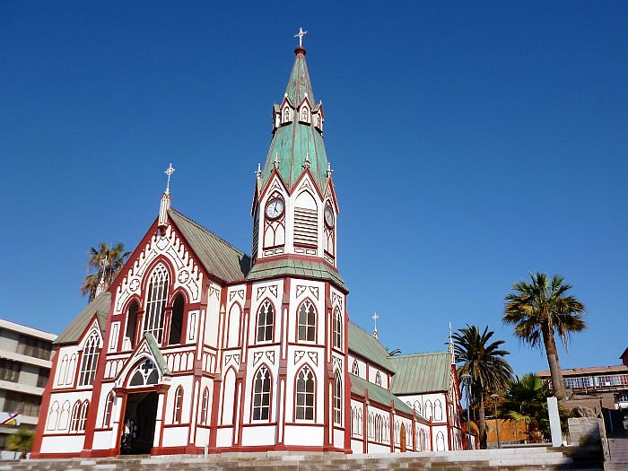 Church at Arica