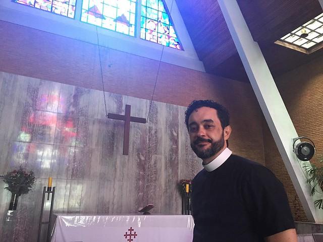 """""""A gente não vê isso [discurso de Bolsonaro] dentro do evangelho de Jesus"""", diz. - Créditos: Foto: Juca Guimarães/Brasil de Fato"""