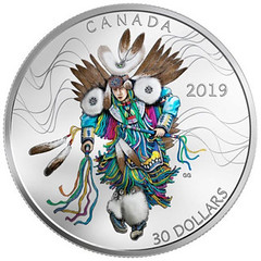 2019 Canada Fancy Dance coin