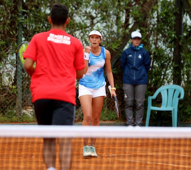 Cierre de Gaby Rivera en el tenis de Buenos Aires 2018