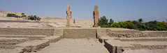 The Mortuary Temple of Merenptah, West Bank, Luxor, Egypt.