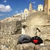 Yarnbombing in Matera