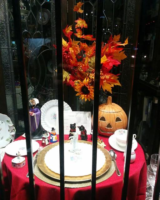 Ceramics for October #toronto #yongestreet #hockridge #hockridgechina #october #fall #autumn #ceramics #porcelain #halloween #pumpkin #maleficent