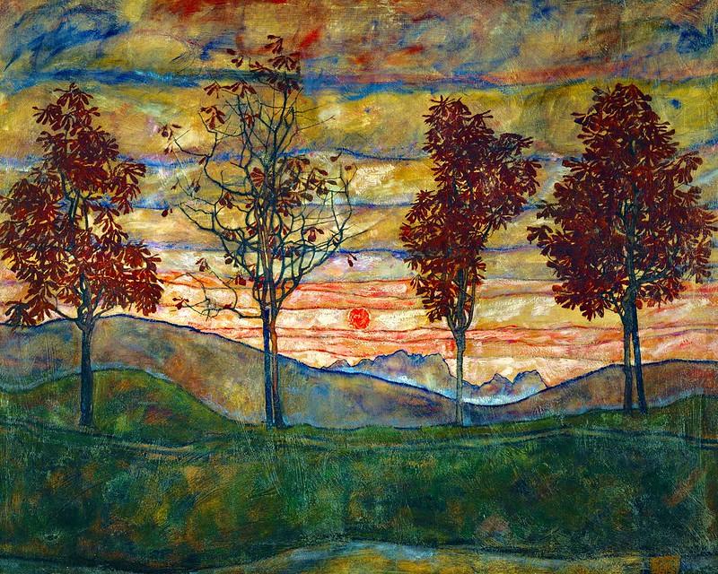 Egon Schiele - Landscape