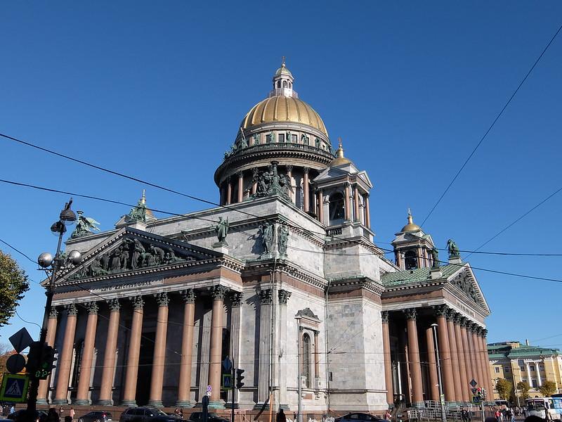 Санкт-Петербург - Исаакиевский собор со стороны улицы Почтамтской