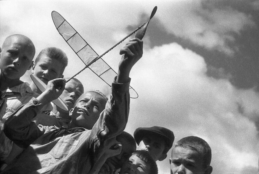 1930-е.  Первые снимки, сделанные Лейкой