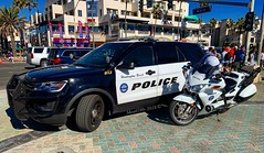 • Huntington Beach California Police - 2017 Ford Police Interceptor Utility and Honda ST1300 motorcycle •