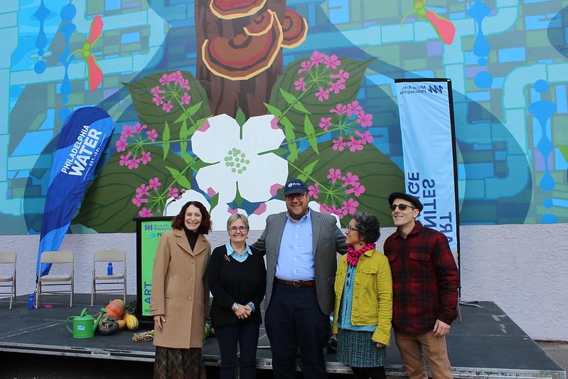 'Water Gives Life' Mural Dedication