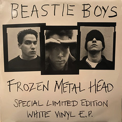 BEASTIE BOYS:FROZEN METAL HEAD(SPECIAL LIMITED EDITION WHITE VINYL E.P.)(JACKET A)