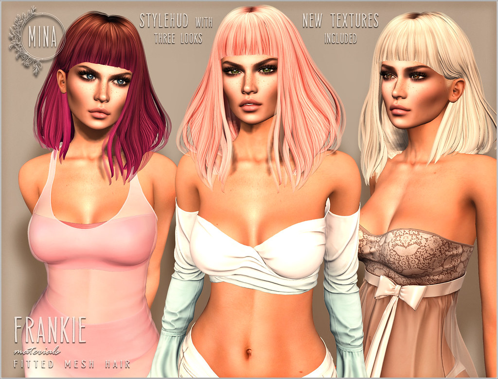 MINA Hair - Frankie for Hair Fair 2018 - TeleportHub.com Live!