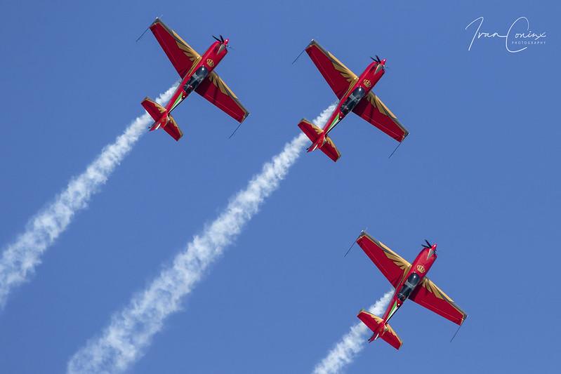 Royal Jordanian Falcons – Kleine Brogel (EBBL) – 2018 09 07 – Inflight – 07 – Copyright © 2018 Ivan Coninx