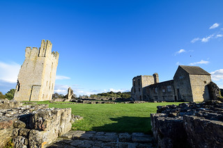 Helmsley Castle - perfect day trip from York