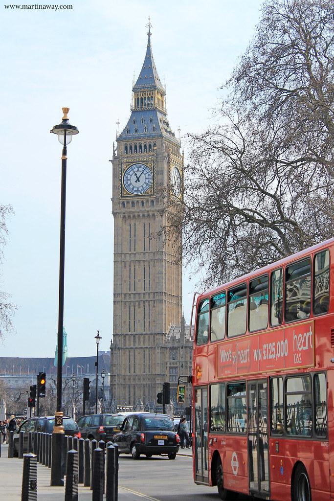 Big Ben e autobus