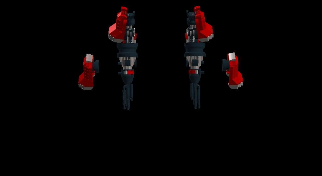 Fire Mech Arms
