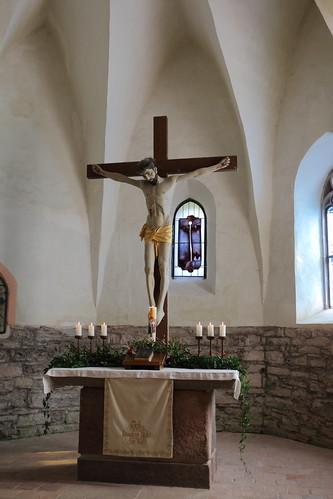 Questenberg, Kirche St. Mariä Geburt, Chorraum