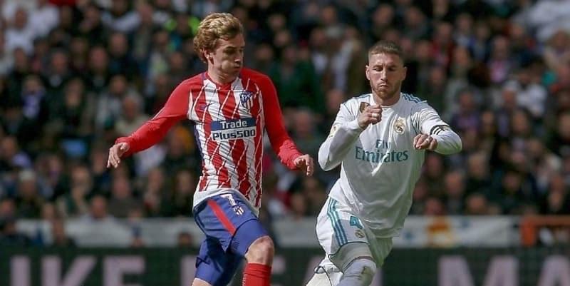Griezmann Menghormati Ramos Biarpun Pernah Selisih