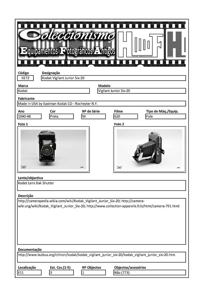 Inventariação da colecção_0272 Kodak Vigilant Junior Six-20