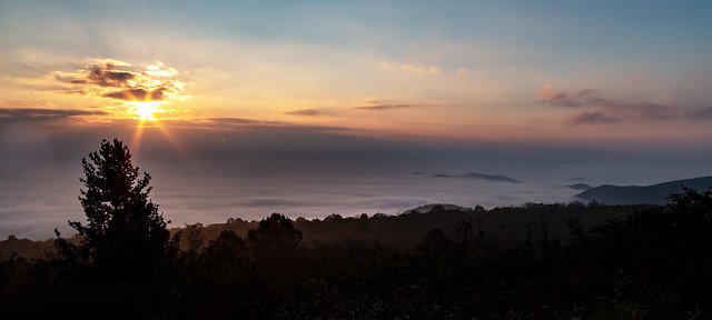 foggy sunrise 2