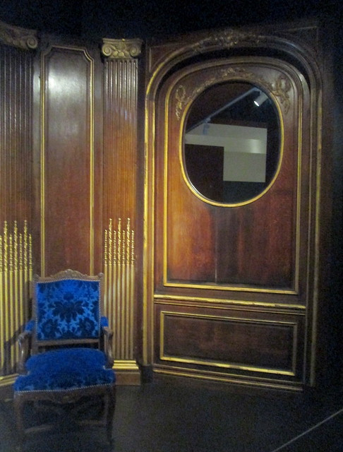 Loius XIV Door Panel and Chair