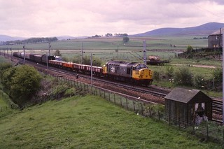 37118 at Carstairs on mixed Sp[eedlink 19/05/1988