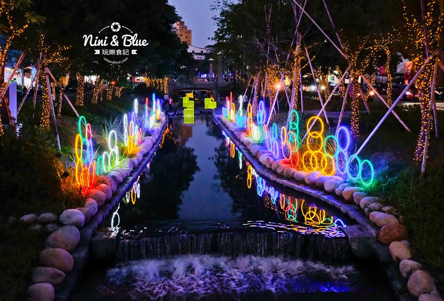 柳川水岸 2018 新盛綠川 燈節 IG打卡11