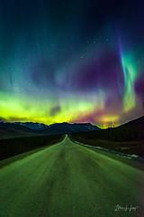 Aurora over the Dalton Highway