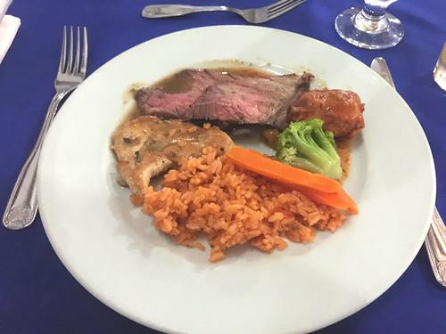 Be Live Marien Puerto Plata - Rinderbraten, Hähnchen & Tomatenreis / Roast beef, chicken & tomato rice
